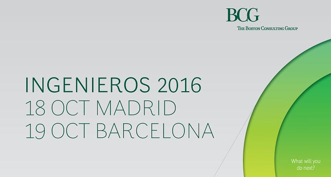 Evento BCG para ingenieros en Madrid y Barcelona