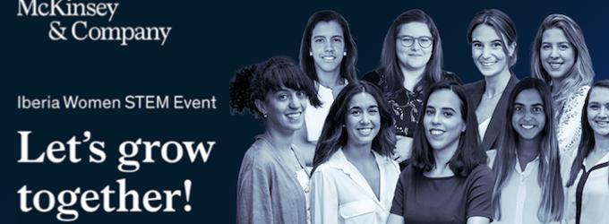 McKinsey te invita al Iberia Women STEM 2021