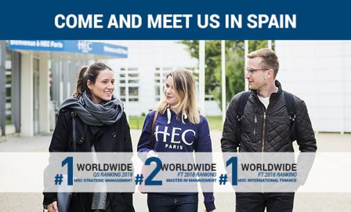 La prestigiosa escuela HEC visita Madrid y Barcelona